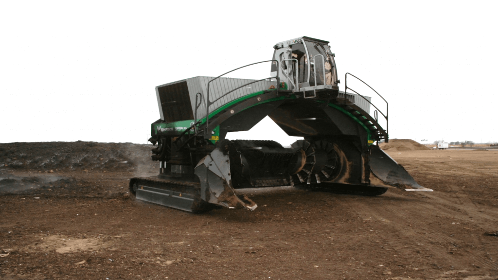 Komptech X67 Topturn Windrow Turner