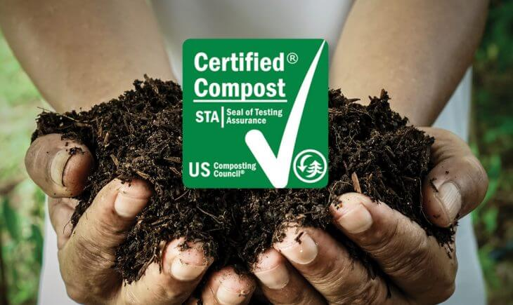 Certified Compost from the Organics Recycling Facility
